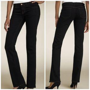 J Brand Black Straight Leg Jeans 25